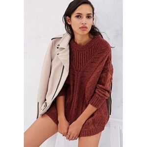 Urban Outfitters (Ecote) Madison Cable Sweater